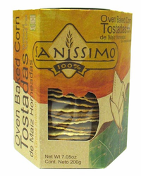 Sanissimo Oven Baked Corn Tostadas (20 count)