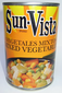 Sun Vista Mixed Vegetables