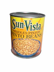 Sun Vista Pinto Beans with Garlic