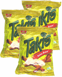 Takis Salsa Brava Hot Sauce by Barcel (Pack of 3)