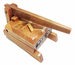 Tortilla Press - Tortilladora de Madera Barnizada / Mezquite Tortilla Press