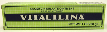 Vitacilina Antibiotic Ointment - Unguento con Antibiotico
