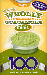 Guacamole by Wholly Organic Guacamole Brand Minis 2 oz