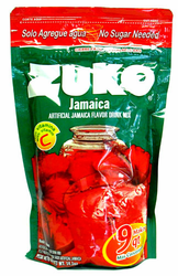 Zuko Hibiscus Flavor Drink Mix (Makes 9 qt - 8.6 Liters)