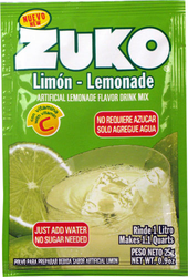Zuko Lemonade Flavor Drink Mix (1 Liter / 0.9 oz) (Pack of 3)