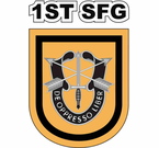 1st Special Forces Group Decal Sticker