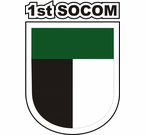 1st Special Operations Command SOCOM Decal Sticker