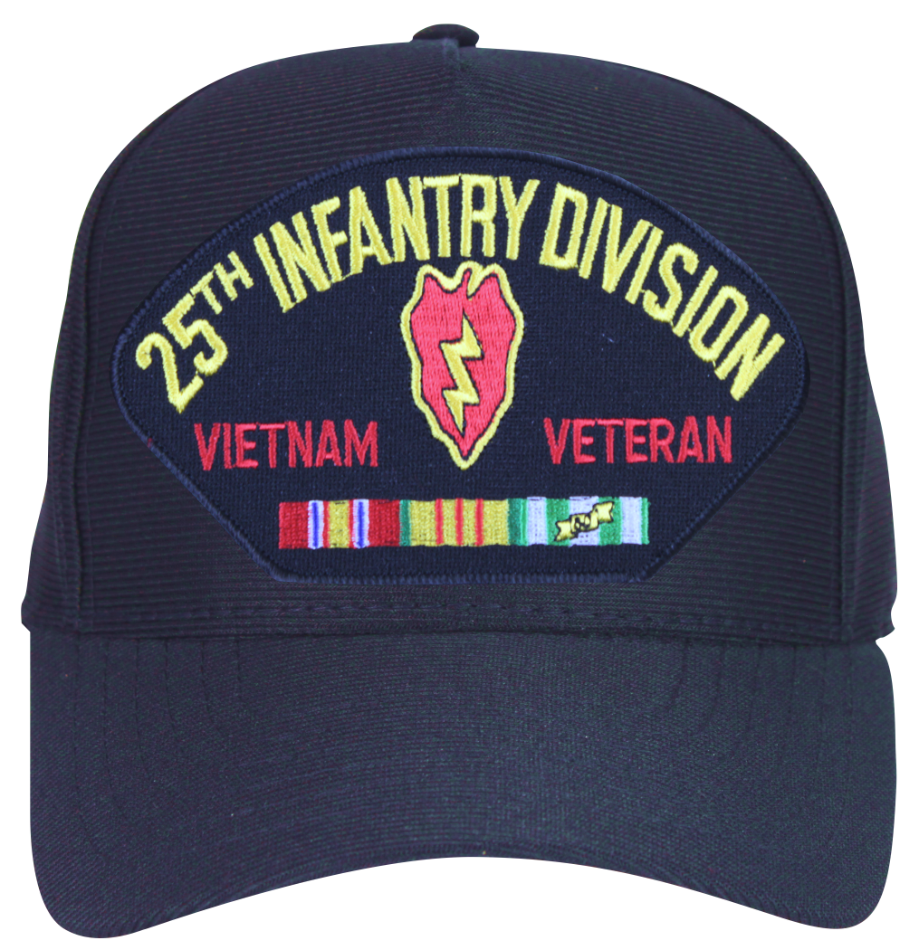 25th Infantry Division Vietnam Veteran with Patch and ...