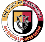 3rd Special Forces Group Quiet Professionals Decal