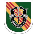 5th Special Forces Group Flash Decal