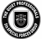 5th Special Forces Group Quiet Professionals Decal