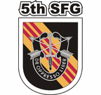 5th Special Forces Group Vietnam Decal