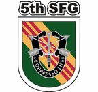 5th Special Forces Group Vietnam Green Flash Sticker