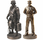 7 Inch Collectable Bronze Statues