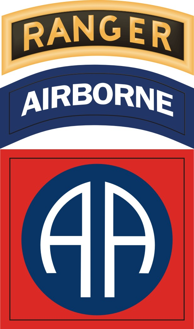 82 Best Ostara Tarot Images On Pinterest: 82nd Airborne With Ranger Tab Sticker Decal