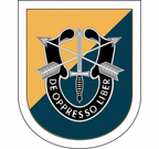 8th Special Forces Group Flash Decal