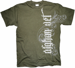 Afghan Veteran Vertical Tribal T Shirt