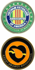 Agent Orange Awareness AVVA Challenge Coin