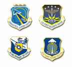 Air Force Centers Vinyl Transfer Decals
