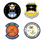 Air Force Labs and Schools Vinyl Transfer Decals