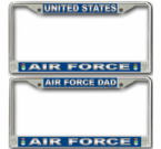 Air Force Pride License Plate Frames