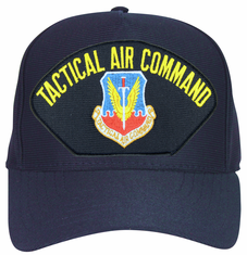 Air Force Tactical Air Command Navy Blue Ball Cap Hat