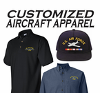 Aircraft Custom Caps & Apparel