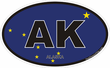 Alaska State Decals Stickers