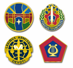 Army Agencies and Organizations Vinyl Transfer Decals