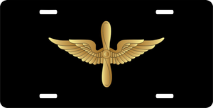 Army Aviation Corps Insignia License Plate