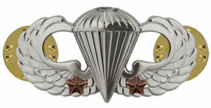 Army Basic Combat Parachute 2nd Award