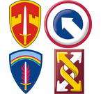 Army Command Stickers