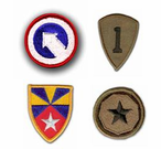 Army Commands Patches