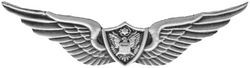 "Army Crewman Wings 2 1/4"" Badge Size Pin"