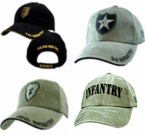 Army DIVISION Ball Caps