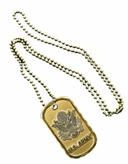 Army Emblem Dog Tag