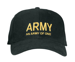 Army of One Unstructured Ball Cap
