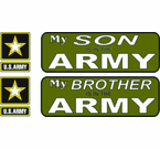 Army Pride Vinyl Stickers Transfer Decals and Vinyl Transfer Bumper Stickers
