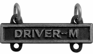 Army Qualification Bar Driver M
