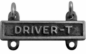 Army Qualification Bar Driver T