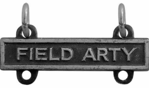 Army Qualification Bar Field Artillery