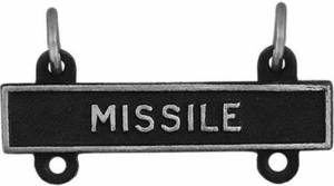 Army Qualification Bar Missile