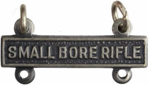 Army Qualification Bar Small Bore Rifle