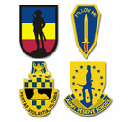 Army School Crest  Vinyl Stickers