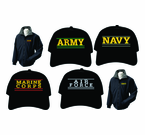 Branch of Service Embroidered Apparel