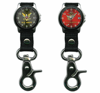Chrome Clip Watches