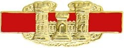 Combat Engineer Badge Lapel Pin