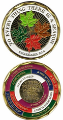 FOR EVERY THING THERE IS A SEASON Challenge Coin
