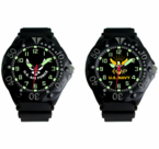 Frontier Military Insignia Dive Watches