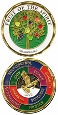 FRUIT OF THE SPIRIT Challenge Coin